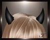 (T) Devil Horns black