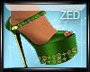 ~Z~ LV Green Heels~