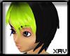 [X]Nanami black/green1