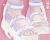 n| Trendy Shoes Lilac