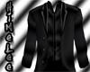 Casual Jet Black Suit