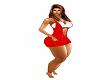 vestido bf vermelho