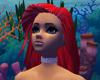 fire red Ariel hair