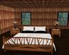 Bed w/Lace Breadspread