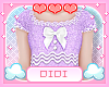 !D! Kids Dress Lilac Top