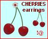 !@ Cherries earrings