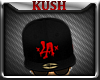 KD.TWO LA Red BLk FITTED