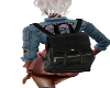 (SS)Sexy Black Backpack