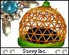 Pumpkin Wire Hat