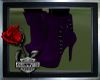 ~Purple Suede Boots~