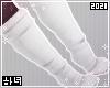 White paw socks