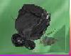 [TGUU]Rose Pin Black