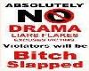 {JUP}No Drama Poster