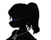 black panther F hair