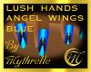 LUSH ANGEL WING BLUE