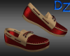Red Marine Loafers