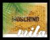 MB - MOSCHINO EARRING