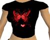 CJ69 Red Butterfly Tee
