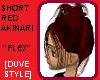 SHORT RED AKINARI