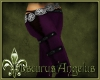 ~OA~ Suede Pant Purple