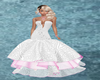 ball gown GA white& pink