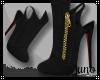 J* Kimono Black Heels