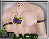 Kitsune Cuffs Purple