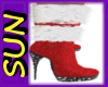 ~D~ Jeweled Fur Boots