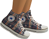 Retro Plaid Converse FEM