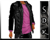 #SDK# Dark Jacket Pink