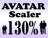 Avatar Scaler 130% / M