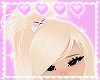 blonde highpony! ♡