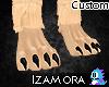 ღDante Red Wolf feet
