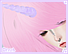 ☾ Purple Unicorn Horn