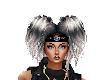 Hair GrayBlack Lizzy 11