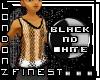 [LF] Wht/Blk String Vest