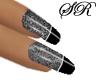Nails Black Lace
