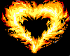 Fire Heart Animated