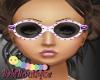 Purple Summer Sunglasses