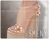 [Is] Wedges Sandal Peach