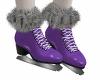 Greta Ice Skates Purple