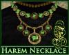 Harem Necklace Green