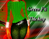 *PD* green fit thickety