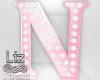 Baby Shower letter N