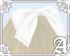 Little Lady Bow~ White