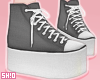 S. Black AllStar Shoes.