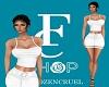 FC White skirt