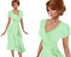 TF* Green Wrap Dress