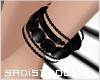 Multile Bangles Black