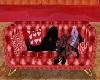 sofa kiss san valentino